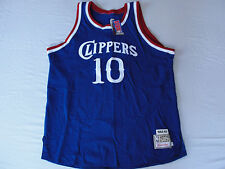 M3 Mitchell & Ness Clippers Authentic 1984-85 Norm Nixon #10 Blue Jersey 54