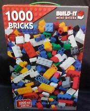 1000 PCS  Bricks Build-It Mini Bricks ** GET YOUR'S TODAY **
