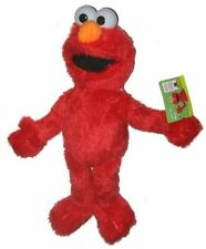 "Sesame Elmo 9"" inches Plush Doll New with Tags Licensed Product - Red"