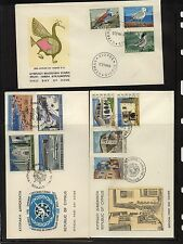 Cyprus 3 cachet covers, one cover Bird stamps