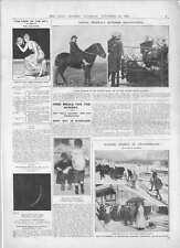 1908 giorno affitto in terra Slum pasti gratuiti MISS BARBARA Grosvenor Cheshire Hunt