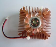10pcs Gold Heatsink with Fan for 5W 10W High Power LED Light Cooling Cooler