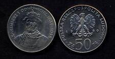 POLAND 50 Zlotych 1980 Duke Kazimierz I  UNC