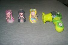 Lite Sprites Dolls Astra Bleak Pink Light up Wow Wee + Sparkle Flower Air Blower