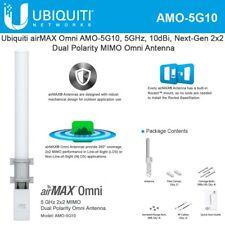 Ubiquiti AMO-5G10 5GHz 10dBi MIMO airMAX Omni Antenna pair w/ RocketM5