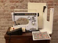 Portable Husqvarna Viking 6360 Sewing Machine w/ Case Pedal Manual 705 H