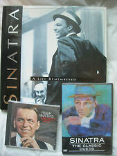 Sinatra A Life Remembered~HC w/dj, CD Greatest Hits and DVD Classic Duets~LBDEP