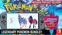 Pokemon Sword & Shield 6IV Mew, Zacian, Zamazenta Battle Ready!!