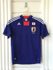 Original Adidas Japan Home 2009-2010 Camisa Trikot Jersey Football Shirt Size L