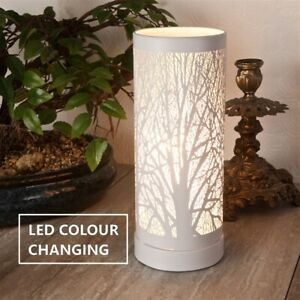 Electric Plug-In White Colour Changing Aroma Lamp Wax Melt Oil Burner Warmer