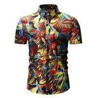 Short sleeve tops slim fit dress shirt summer formal casual t-shirt luxury men's