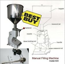 Manual Paste & Liquid Filling Machine 5-50ml