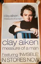 Clay Aiken - Measure of a Man Record Release Poster 2003 Promo Only!