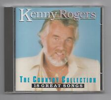 KENNY ROGERS  =  {CD - 18 TRACKS)  =  THE COUNTRY COLLECTION  =  {COUNTRY}  =
