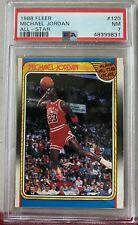 1988 Fleer #120 Michael Jordan All-Star - PSA 7