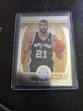 2013-14 Totally Certified Tim Duncan #19 Parallel Gold #D /25  San Antonio Spurs