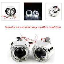 Aluminium Alloy Red Devil Demon Eye HID Bi-Xenon Projector Lens Headlight Kit