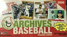 2020 Topps Archives Baseball Singles Pick Card Build Complete Set Lot Stars RCs