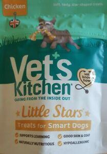 2 x Vet's Kitchen Little Stars Sensitive Chicken 80g FREE DELIVERY!!