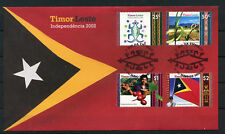 Timor - FDC MiNr. 371 / 74 **