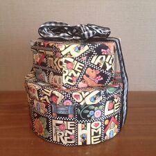 Mary Engelbreit Handmade Decorative Boxes w/Matching Ribbon Shelf Decoration