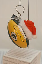 GREEN BAY PACKER FOOTBALL ORNAMENT~NEW WITH TAGS~FREE SHIPPING IN THE US~
