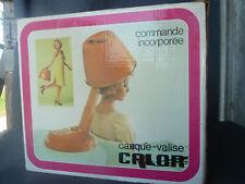 """Antiguo casco maleta CALOR """" capuchina"""", peluquería vintage french antigua"""