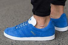 Adidas Originals Gazelle Zapatos Core ante Azul Retro Zapatillas UK 10 Hombre