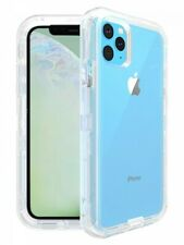 For Apple iPhone 11 Pro Max Clear Defender Case Works with Otterbox Belt Clip