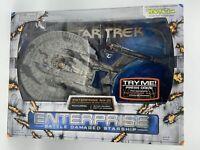 Star Trek Art Asylum U.S.S. Enterprise NX-01 Ship BATTLE DAMAGED VARIANT RARE