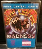 South Central Cartel - Madness-Album Cassette Tape SEALED 1991 RARE rap hip hop