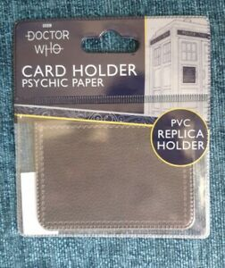 Doctor Who psychic paper card holder