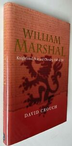 2002 WILLIAM MARSHAL crusades hardcover, David Crouch, FREE EXPRESS W/WIDE