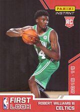 2018-19 Panini Instant NBA #FI-23 Robert Williams Rookie Card Celtics - 81 made!