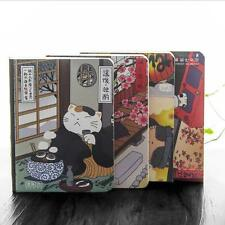 """Japanese Cat Ver.3"" 1pc Notebook Planner Pocket Scheduler Study Agenda Diary"