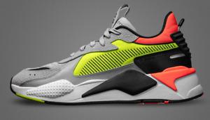 Puma RS-X Hard Drive Run System Grey Volt Men's Size 11.5 Running Shoes