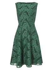 Precis Keeley Lace Dress Green Size UK 18 LF079 PP 02