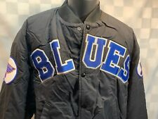 Vintage St Louis BLUES Hockey Swingster Lined Jacket Size L