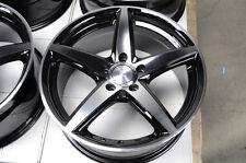 17 5x120 Wheels Polished Fits BMW 318 325 330 335 Z3 CTS 328 Acura 5 Lug Rims