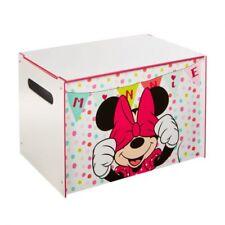 Worlds Apart Disney Minnie Mouse Kids Toy Box, Kis Toy Chest & Storage Unit