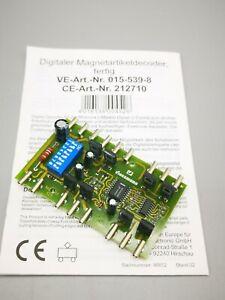 CONRAD**212710**Digitaler Magnetartikeldecoder**Motorolla-Format**H0