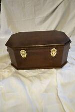 Wooden Pet Casket (American Walnut colored)