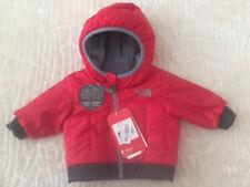 Newborn Baby Boy THE NORTH FACE Reversible Yukon Hoodie Jacket Coat 0-3M NWT $80