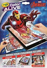 Crayola Colour Alive (Color Alive) - Marvel Avengers with Crayons