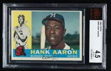 1960 Topps Hank Aaron #300 BVG 4.5 HOF