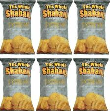 The Whole Shabang Extreme Rippled Chips, 6 Pack - 6oz Bags
