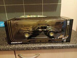 1:18 Pontiac 1980 Trans Am by Greenlight, Smokey & The Bandit 2 Movie Car