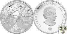 2013 Platinum HMS Shannon and USS Chesapeake $300 Platinum Coin 1oz .9999(13213)