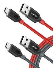 Australia [2-Pack] Anker Powerline+ USB-C to USB A 2.0 Cable, for Galaxy S9, S8+
