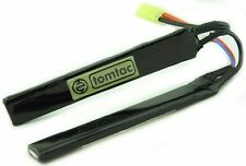 AIRSOFT BATTERY 7.4V 20-25 C 1300MAH LIPO TAMIYA TOMTAC 2 cell CRANESTOCK uk